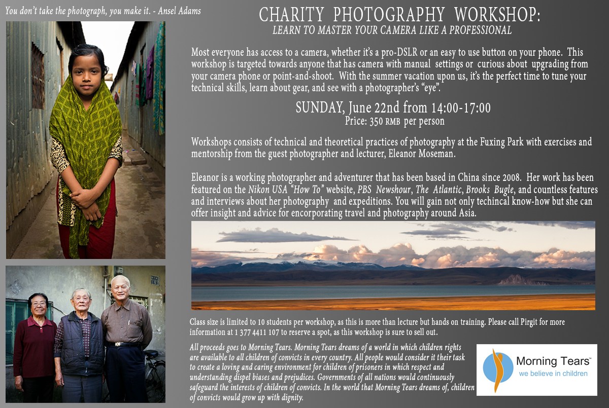 Photography workshop SH